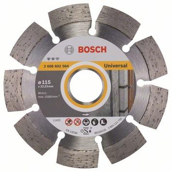 Bosch Professional diamantdoorslijpschijf expert for universal 115 x 22,23 x 2,2 x 12 mm 1st