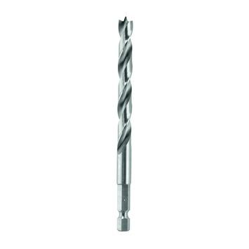 """Bosch Professional houtspiraalboor, 1/4"""" zeskantschacht 4 x 43 x 88 mm 1st"""