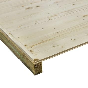 Vloer voor tuinhuis 230x230 cm