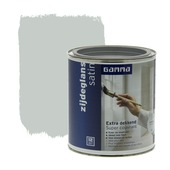 GAMMA Extra Dekkend lak zijdeglans aluminium 750 ml