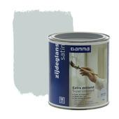 GAMMA lak extra dekkend zijdeglans zilver grijs 750 ml