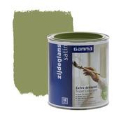 GAMMA lak extra dekkend zijdeglans olijf groen 750 ml