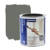 GAMMA lak extra dekkend zijdeglans warm grijs 750 ml