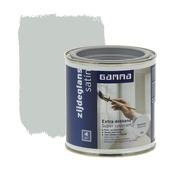 GAMMA Extra Dekkend lak zijdeglans aluminium 250 ml