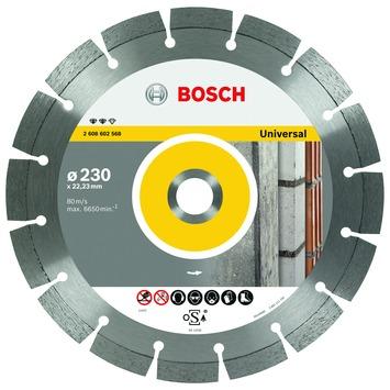Bosch Professional diamantdoorslijpschijf expert for universal 125 x 22,23 x 2,2 x 12 mm 1st