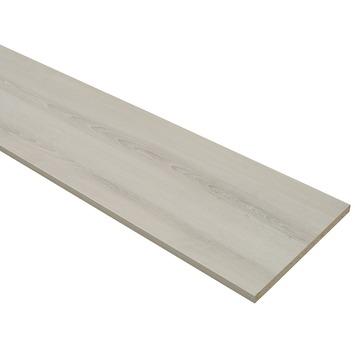 Panneau de meuble finition 2x ABS 18 mm 240x30 cm chêne gris