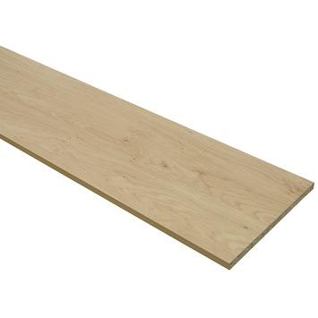 Panneau de meuble finition 2x ABS 18 mm 240x30 cm chêne