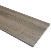 Panneau de meuble finition 2x ABS 18 mm 240x60 cm chêne brun