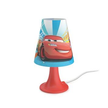 Philips Disney Cars tafellamp met LEDlamp rood 2,3 W