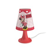 Philips Disney Minnie tafellamp met LEDlamp rood 2,3 W