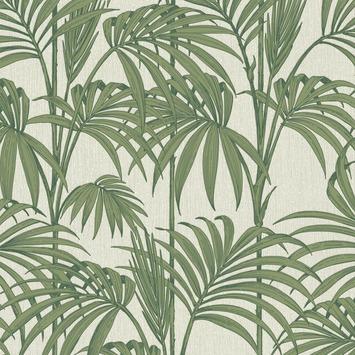 Vliesbehang Honolulu palm glitter groen 32-969