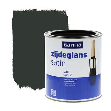 GAMMA lak zijdeglans zwart 750 ml
