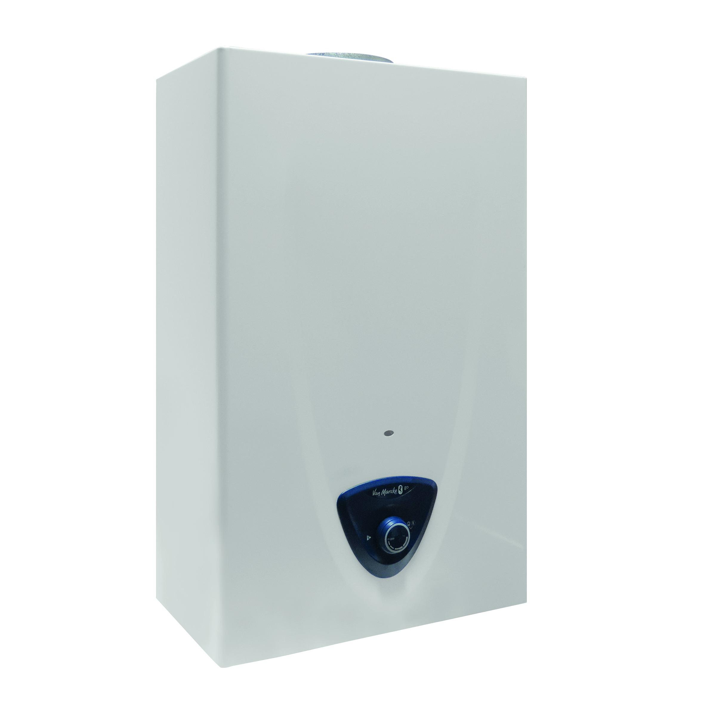 chauffe eau gaz butane propane 14l van marcke go chauffe eau accessoires chauffage central. Black Bedroom Furniture Sets. Home Design Ideas