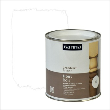 GAMMA primer hout wit 750 ml