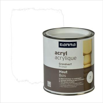 GAMMA primer hout watergedragen wit 750 ml
