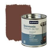GAMMA ijzermenie zijdeglans roodbruin 750 ml