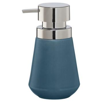 Sealskin zeepdispenser Conical porselein blauw