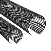 Filet pour gouttière 12 cm x 200 cm gris