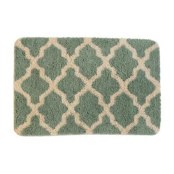 Alhambra badmat groen 60x90 cm