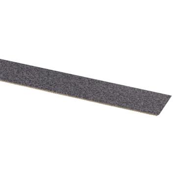 Kantfolie donker punt grijs 24 mm 50 m