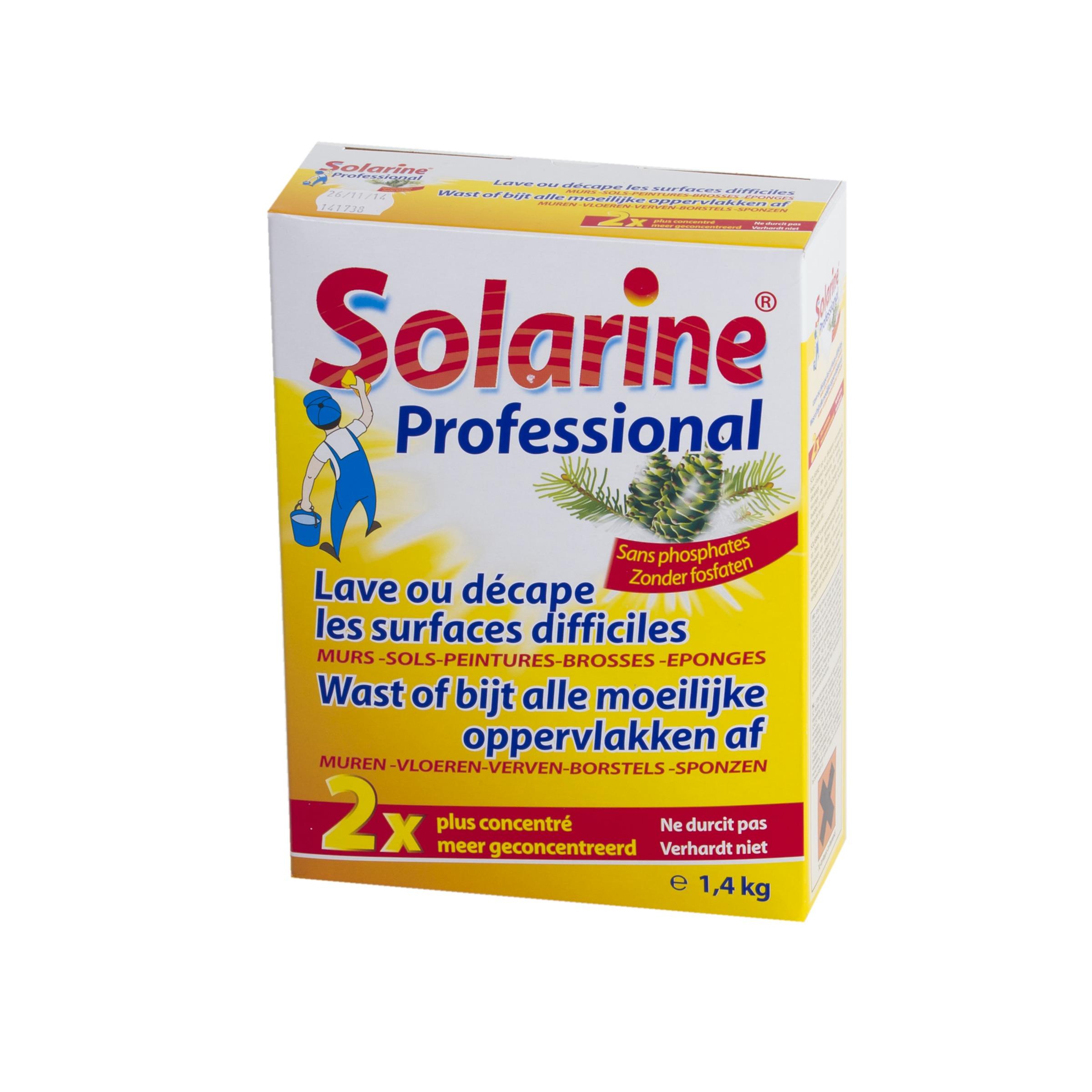 Solarine d capant concentr en poudre 1 4 kg produits de for Produit pour nettoyer le four