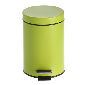 Poubelle Street vert 5 litres