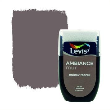Levis Ambiance muur mat tester 30 ml 1610 Chocolade