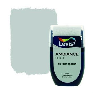 Testeur peinture Ambiance mur mat Levis 30 ml 7311 Gris versailles