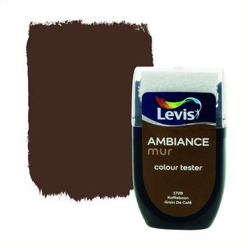 Levis Ambiance muur mat tester 30 ml 1728 Koffieboon