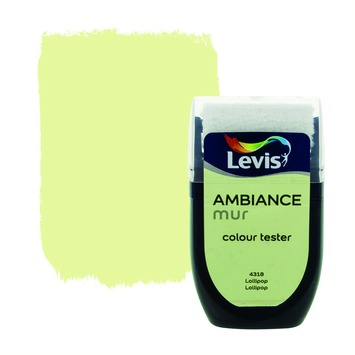 Testeur peinture Ambiance mur mat Levis 30 ml 4318 Lollipop