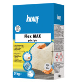 Colle flexible pour carrelage Flex Max Knauf 5 kg gris