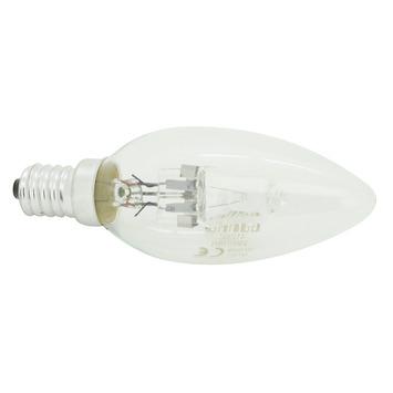 Ampoule flamme éco halogène GAMMA E14 205 Lm 18W = 25W