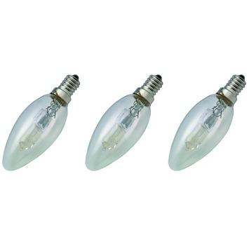 GAMMA ecohalogeen kaarslamp E14 370 lumen 28 W = 40 W 3 stuks