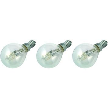 GAMMA ecohalogeen kogellamp E14 370 lumen 28 W = 40 W 3 stuks