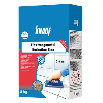Knauf voegmortel flex 5 kg antraciet