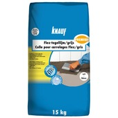 Colle carrelages Flex Knauf premium 15 kg blanc