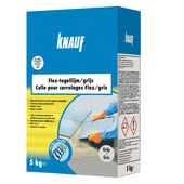 Colle carrelage flex Knauf 5 kg gris