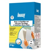 Colle carrelage et contruction Knauf 5 kg blanc