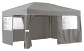 Tente de jardin 3x4 m Mallorca avec paroi laterale