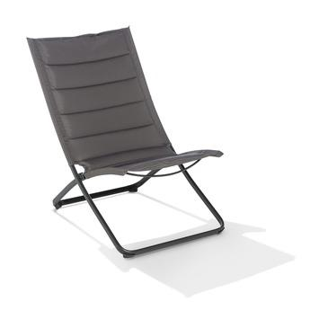 Chaise pliante Ibiza anthracite
