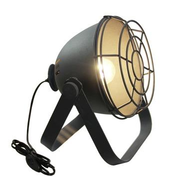 Lampe de table avec grille Bo Brilliant noir