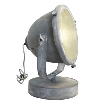 Brilliant tafellamp Carmen E27 60 W betongrijs exclusief lamp