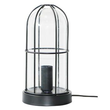 Brilliant tafellamp Storm E14 max. 40 W zwart exclusief lamp
