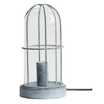 Brilliant tafellamp Storm E14 max. 40 W betongrijs exclusief lamp