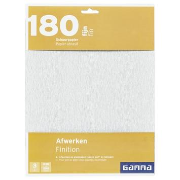 GAMMA schuurpapier K180