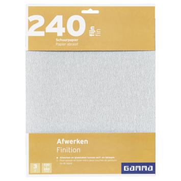 GAMMA schuurpapier K240
