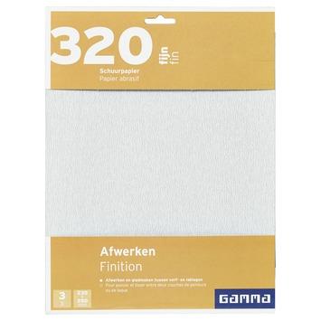 GAMMA schuurpapier K320