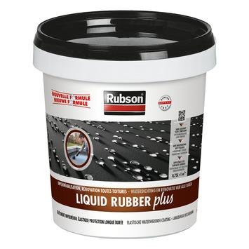 Rubson Liquid Rubber Plus zwart 0,75 L