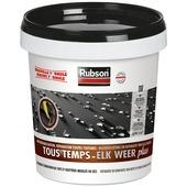 Rubson Elk weer Plus rubbercoating voor platte daken zwart 0,75 L