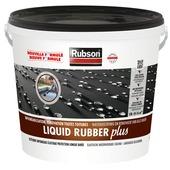 Revêtement imperméable Liquid Rubber Plus Rubson 10 L noir